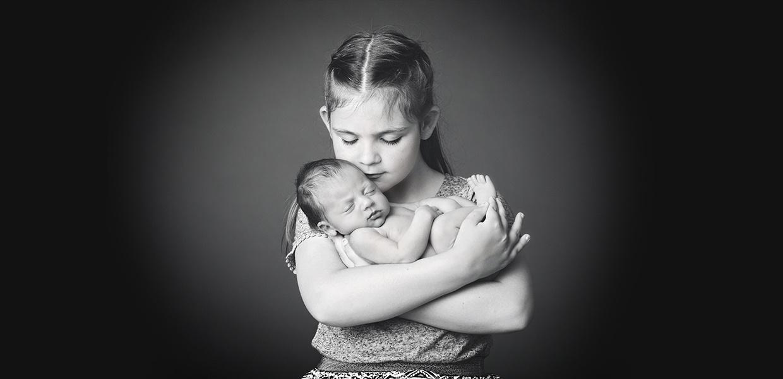 baby sibling cornwall photography