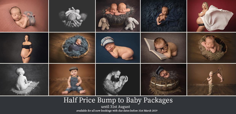 Half Price Newborn Baby Photography